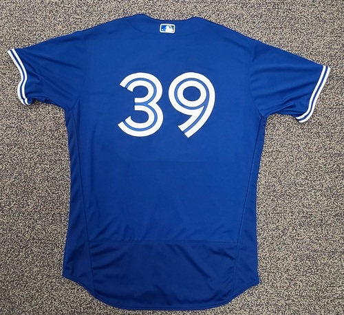 Photo of Authenticated Team Issued Spring Training Jersey: #39 Kirby Yates (2021 Season). Size 48.