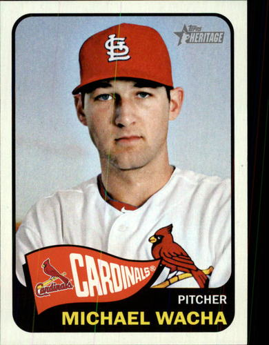 Photo of 2014 Topps Heritage #407A Michael Wacha