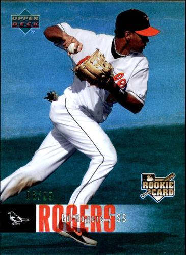 Photo of 2006 Upper Deck Special F/X Green #530 Ed Rogers /99