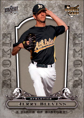Photo of 2008 UD A Piece of History #134 Jerry Blevins RC