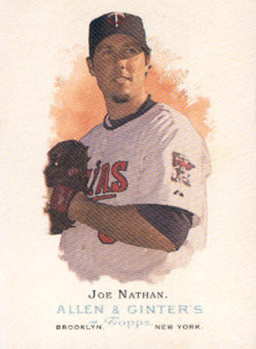 Photo of 2006 Topps Allen and Ginter #20 Joe Nathan