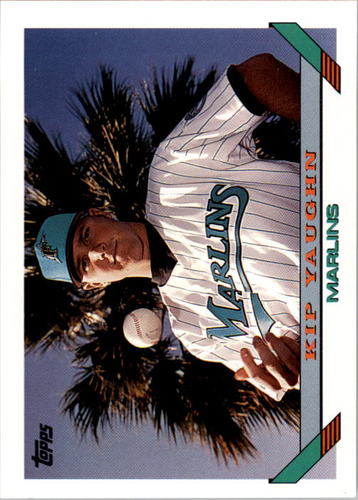 Photo of 1993 Topps #669 Kip Yaughn RC
