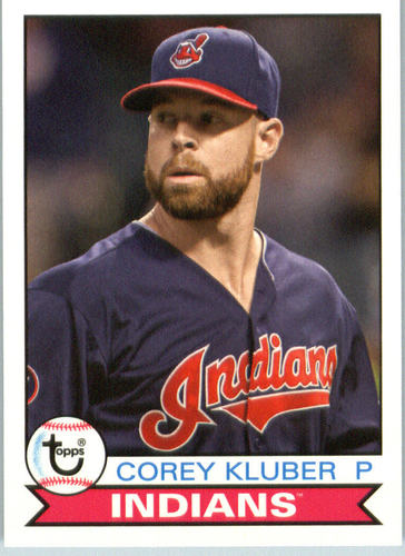 Photo of 2016 Topps Archives #107 Corey Kluber
