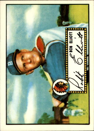 Photo of 1983 Topps 1952 Reprint #14 Bob Elliott