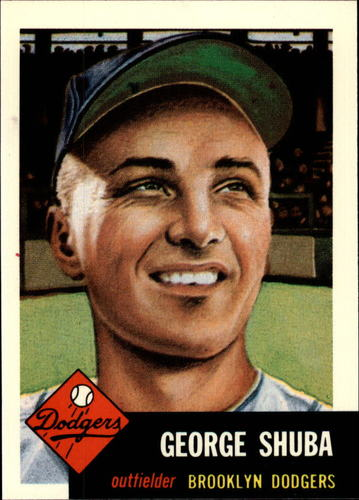 Photo of 1991 Topps Archives 1953 #34 George Shuba