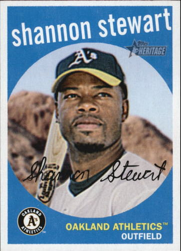 Photo of 2008 Topps Heritage #264 Shannon Stewart GB SP