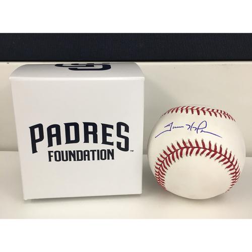 Photo of Autographed Trevor Hoffman Baseball