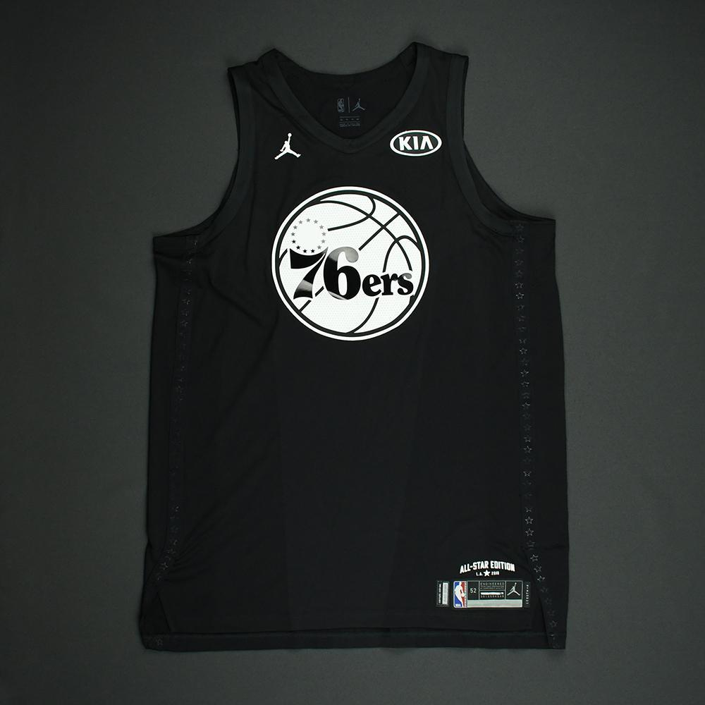 Joel Embiid - 2018 NBA All-Star Game - Team Steph - Autographed Jersey 859bafe8a