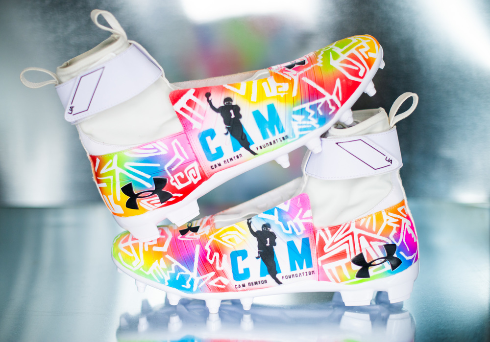 NFL Auction | My Cause My Cleats - Panthers Cam Newton