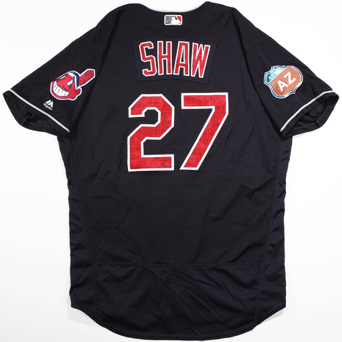 Photo of 2016  Spring Training -  Game-Used Jersey - Bryan Shaw (Indians) - Size 48