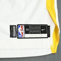 Jonas Jerebko - Golden State Warriors - 2019 NBA Finals - Game 3 - Game-Worn White Association Edition Jersey