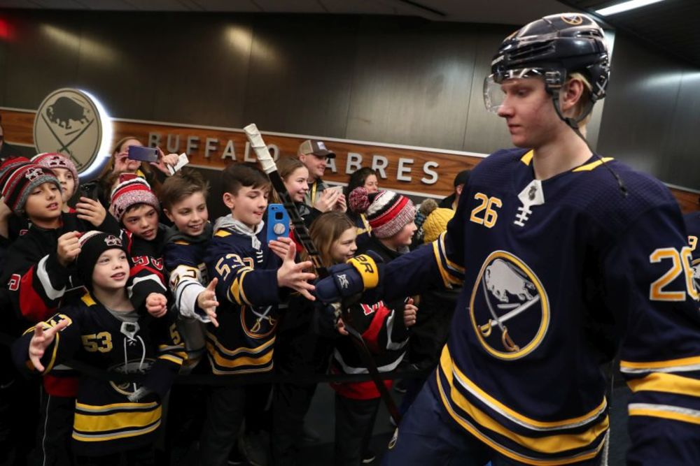 Ultimate Sabres Fan Package -  Buffalo Sabres vs. Toronto Maple Leafs 11-29-19