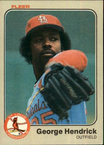 Photo of 1983 Fleer #7 George Hendrick