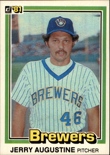 Photo of 1981 Donruss #445 Jerry Augustine