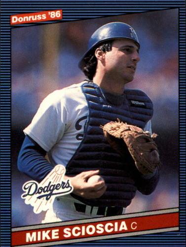 Photo of 1986 Donruss #93 Mike Scioscia