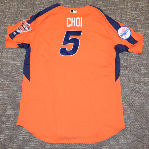 Photo of Hee-seop Choi 2005 MLB All Star Game Home Run Derby Jersey #5 (NOT MLB AUTHENTICATED)