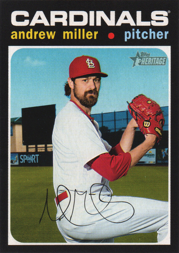 Photo of 2020 Topps Heritage #58 Andrew Miller
