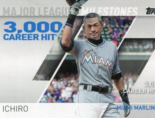 Photo of 2017 Topps Major League Milestones #MLM19 Ichiro