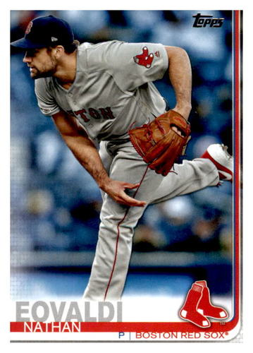 Photo of 2019 Topps Update #US282 Nathan Eovaldi