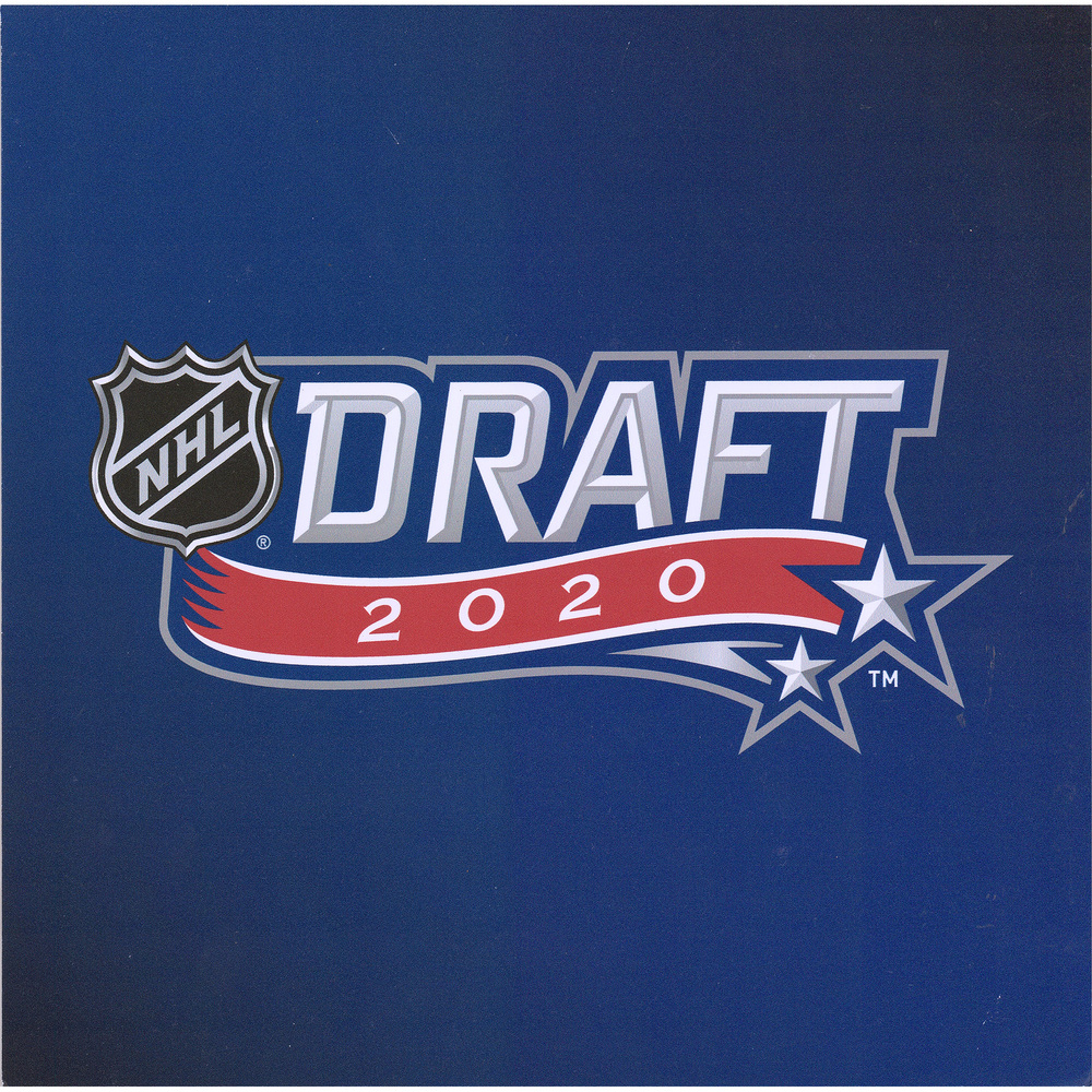 2020 NHL Draft Logo Event-Used 2020 NHL Draft Lottery Team Selection Card