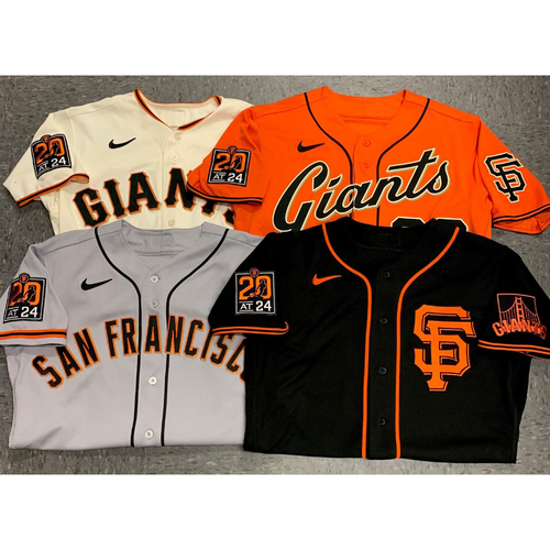 Photo of 2020 Cyber Monday Sale - 2020 Game Used and Team Issued Jersey Lot - 1 Randomly Selected Game Used or Team Issued Jersey in Each 2020 Regular Season Style (4 Jerseys) - Size 48