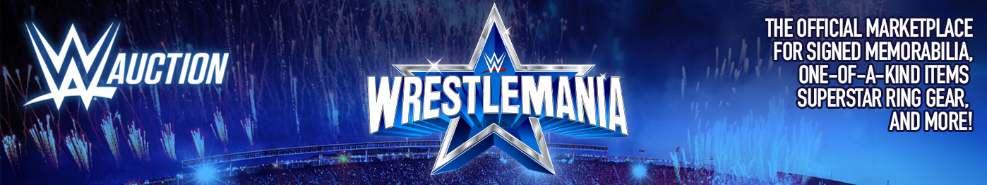 Welcome to WWE auction
