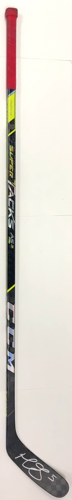 #5 Mark Giordano Game Used Stick - Autographed - Calgary Flames