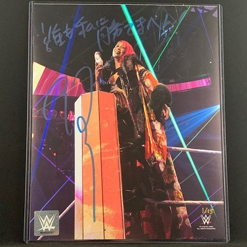 Photo of Asuka SIGNED 8x10 Photo Blue Signature (#1 of 15)