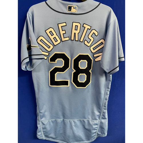 Photo of Game Used 2020 Spring Training Jersey: Daniel Robertson - 1 Game - February 24 v BOS