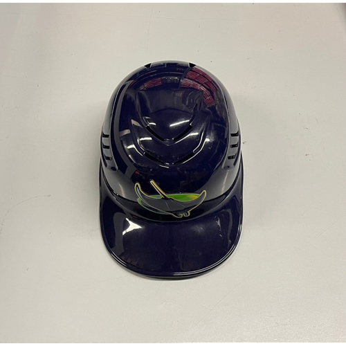 Photo of Team Issued Devil Rays Coaches Helmet: Rodney Linares #27