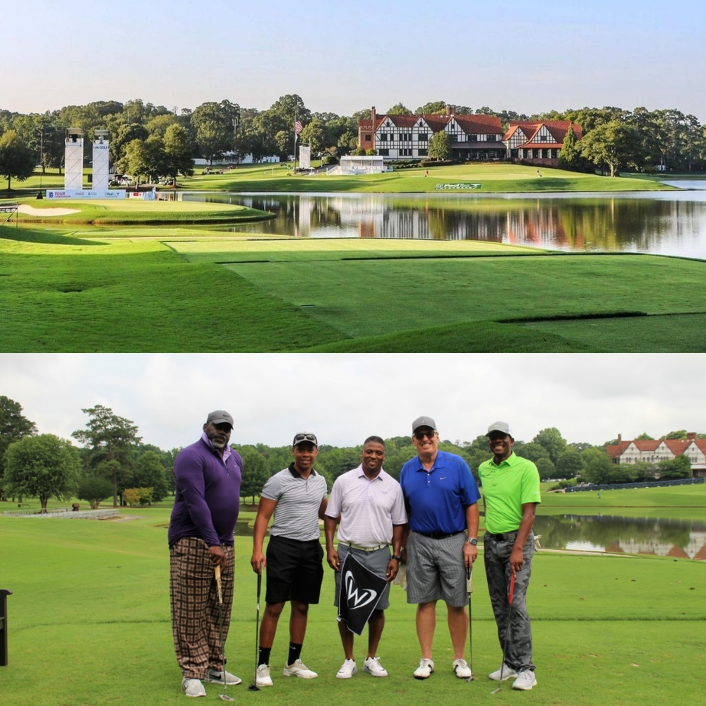 Round of golf at East Lake Golf Club for six people with Warrick Dunn and another celebrity guest