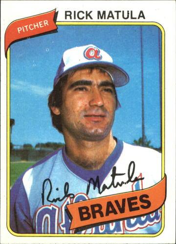 Photo of 1980 Topps #596 Rick Matula RC