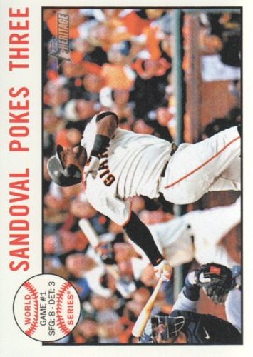 Photo of 2013 Topps Heritage #136 Pablo Sandoval