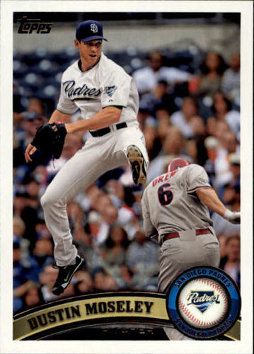 Photo of 2011 Topps Update #US211 Dustin Moseley