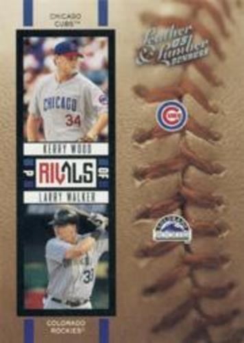 Photo of 2005 Leather and Lumber Rivals #7 K.Wood/L.Walker
