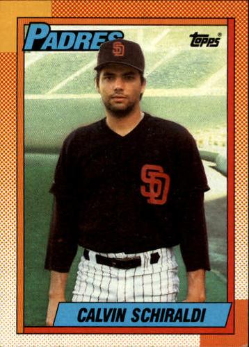Photo of 1990 Topps #693 Calvin Schiraldi