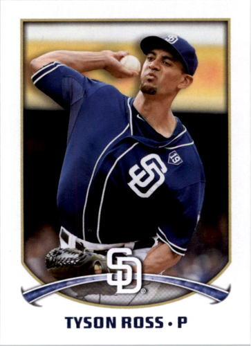 Photo of 2015 Topps Stickers #288 Tyson Ross