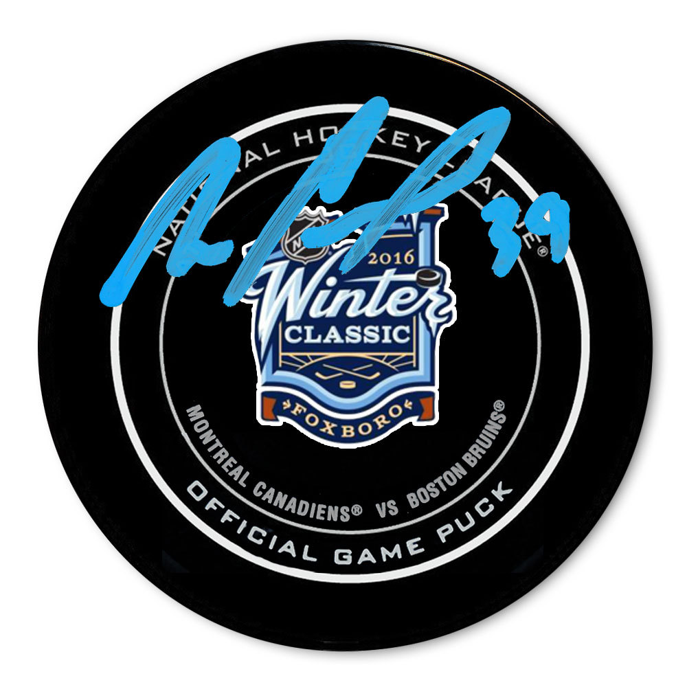 Mike Condon 2016 Winter Classic Dueling Autographed Official Game Puck
