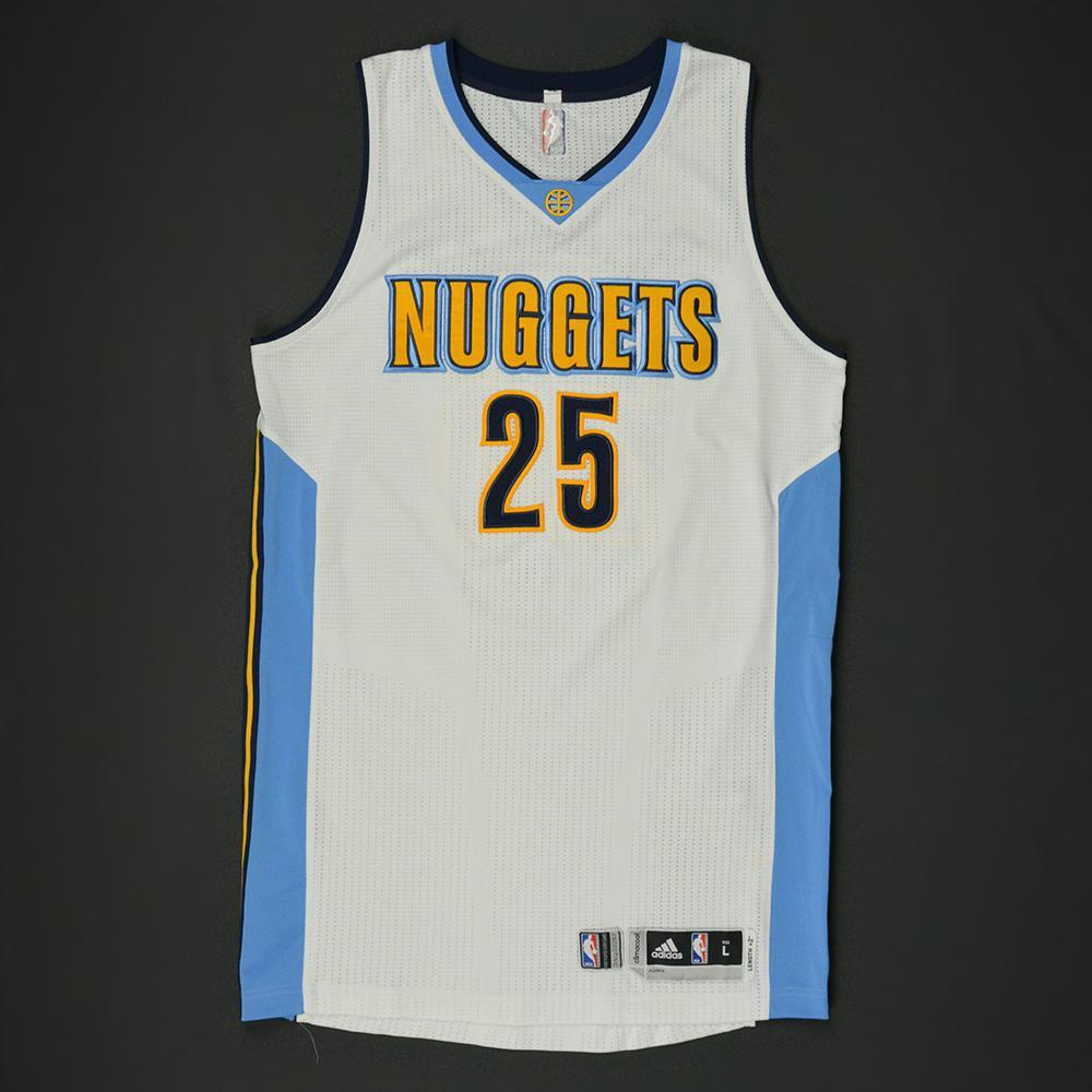 best loved 25aa7 9084c Malik Beasley - Denver Nuggets - NBA Global Games 2017 ...