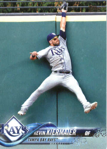 Photo of 2018 Topps #297 Kevin Kiermaier