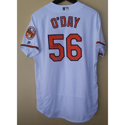 Photo of Darren O'Day - Home Jersey: Autographed
