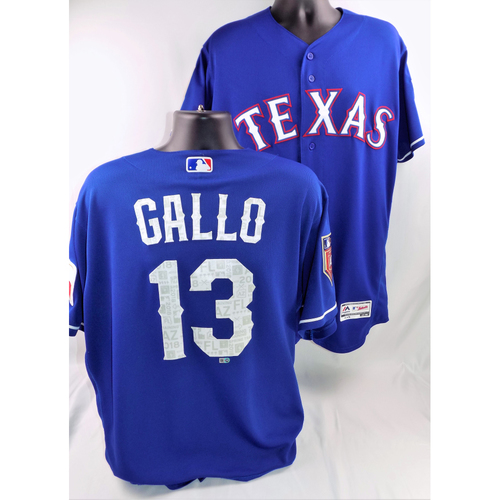 Photo of Joey Gallo Game-Used Spring Training Jersey