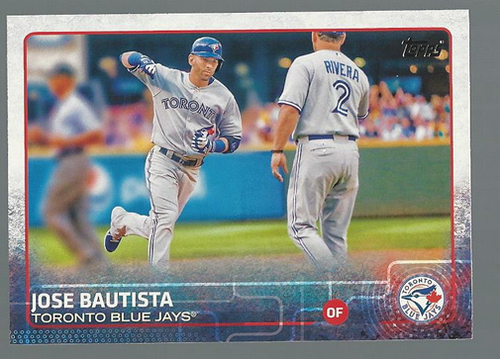 Photo of 2015 Topps #25A Jose Bautista