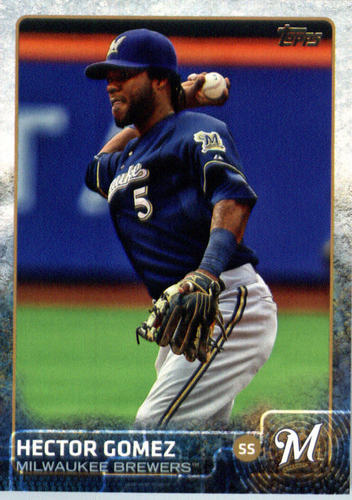 Photo of 2015 Topps Update #US229 Hector Gomez