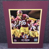 Redskins - Su'a Cravens Signed Matted Photo
