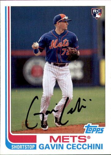 Photo of 2017 Topps Archives #109 Gavin Cecchini Rookie Card