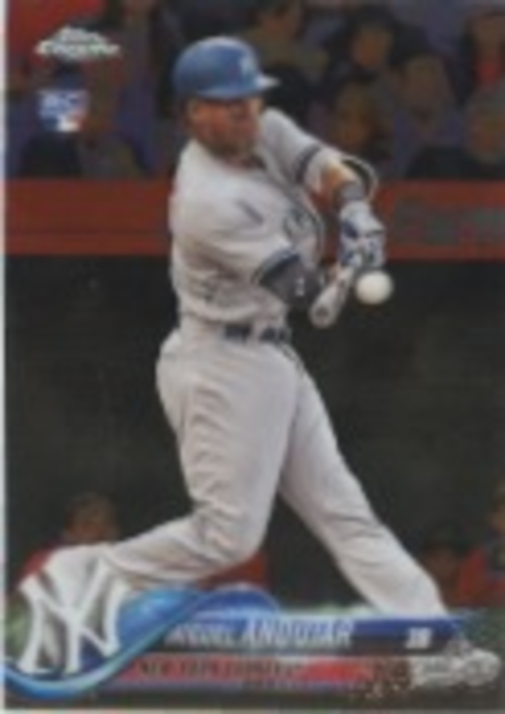 2018 Topps Chrome Update #HMT20 Miguel Andujar Rookie Card