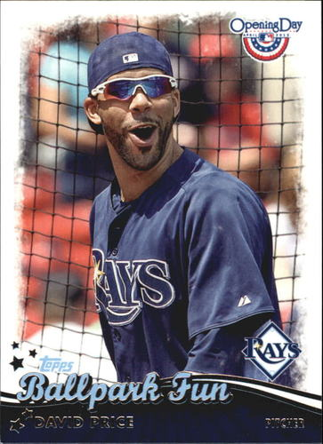 Photo of 2013 Topps Opening Day Ballpark Fun #BF22 David Price
