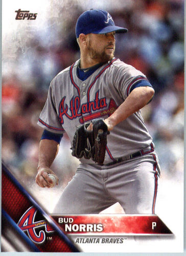 Photo of 2016 Topps #370 Bud Norris