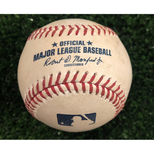 Photo of Jeff McNeil Game Used Hit Double Baseball - June 19, 2019